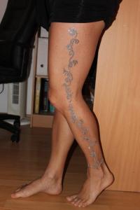 ezüst csill. láb